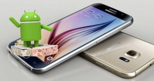 Android siete para el ©Galaxy S6