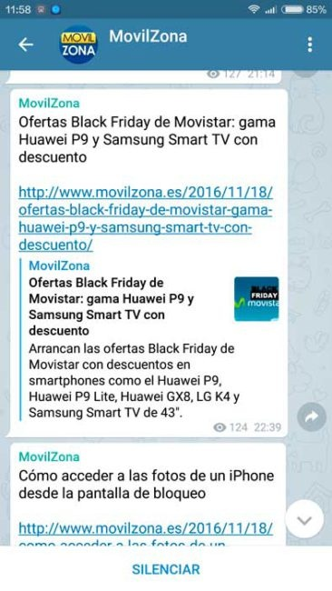 ofertas de móviles en el Black Friday