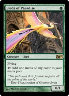 Image result for birds of paradise mtggoldfish