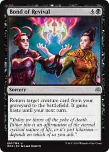 Image result for bond of revival mtggoldfish