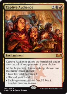 Image result for captive audience mtggoldfish