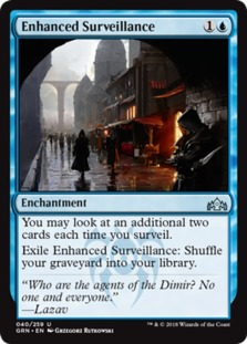 Image result for enhanced surveillance mtggoldfish
