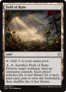 Image result for field of ruin mtggoldfish