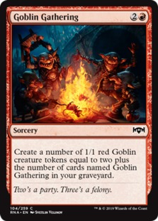 Image result for goblin gathering mtggoldfish