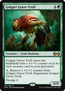 Image result for golgari grave troll goldfish