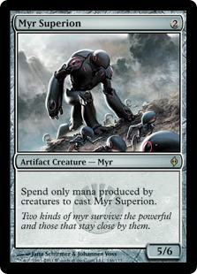 Image result for myr superion mtggoldfish
