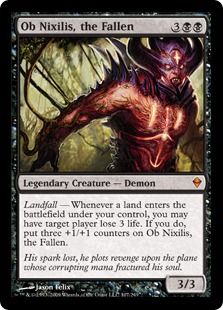 Image result for ob nixilis the fallen mtggoldfish