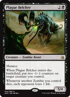 Image result for plague belcher mtggoldfish
