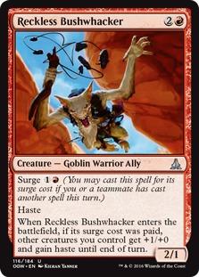 Image result for reckless bushwhacker