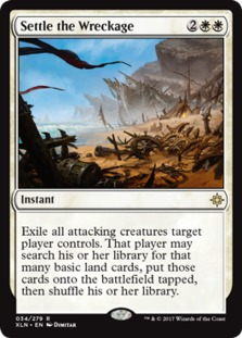 Image result for settle the wreckage mtggoldfish