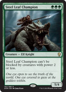 Image result for steel-leaf champion mtggoldfish