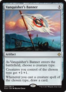 Image result for vanquisher's banner mtggoldfish