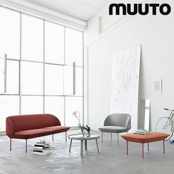 The OSLO 3 Seater Sofa A Sleek And Classy Silhouette MUUTO