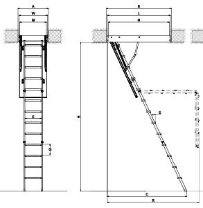 LMKK Attic Ladder Fakro Ladder FAKRO Johor Bahru, JB