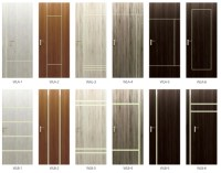 Lining Laminated Design Decorative Laminated Wooden Door
