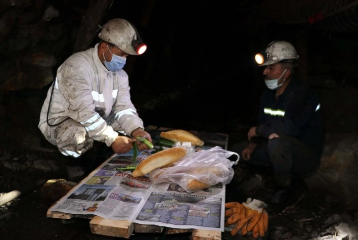 The first sahur in Zonguldak, 10 meters below the ground