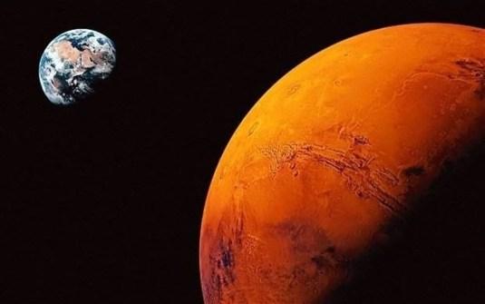 Çin, Mars'tan yeni fotoğraflar paylaştı - 4