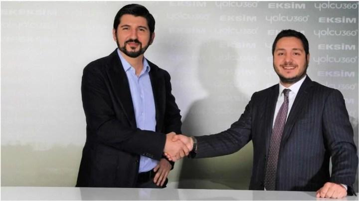 Yolcu360 CEO'su Umut Yıldırım-Eksim Holding Yönetim Kurulu Başkanı Ebubekir Tivnikli