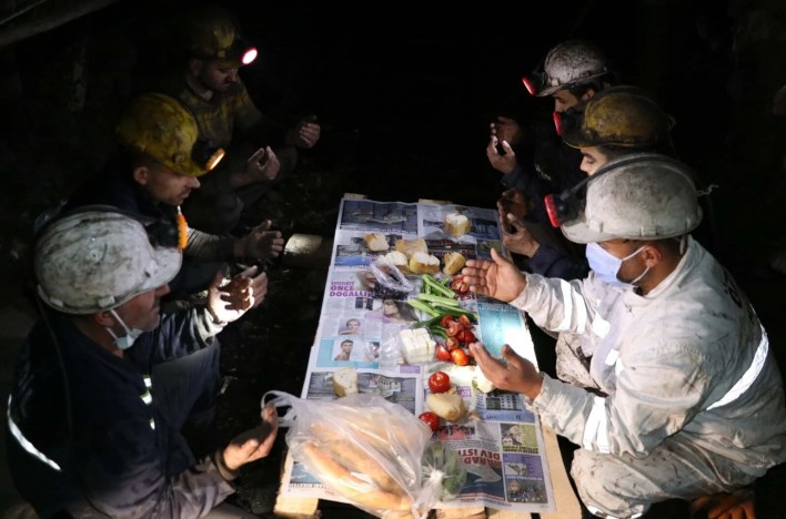 The first sahur in Zonguldak, the underground meter - 9