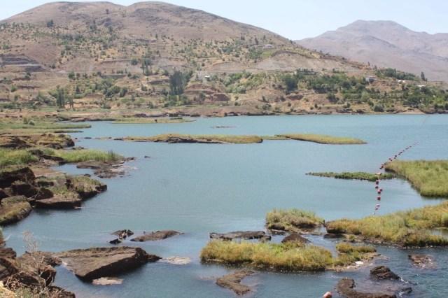 Baraj gölündeki yüzen adalar sabitlenecek - 13
