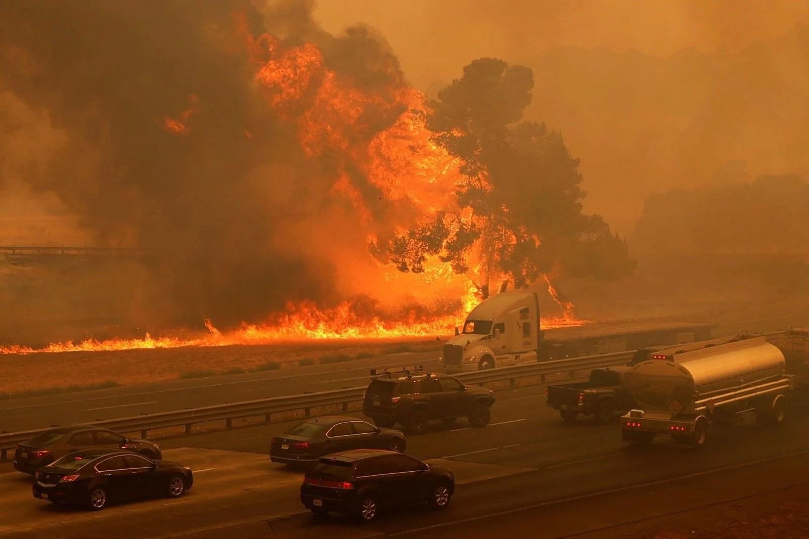 California'da 8 bin kilometrekare alan yandı, rekor kırıldı - 2