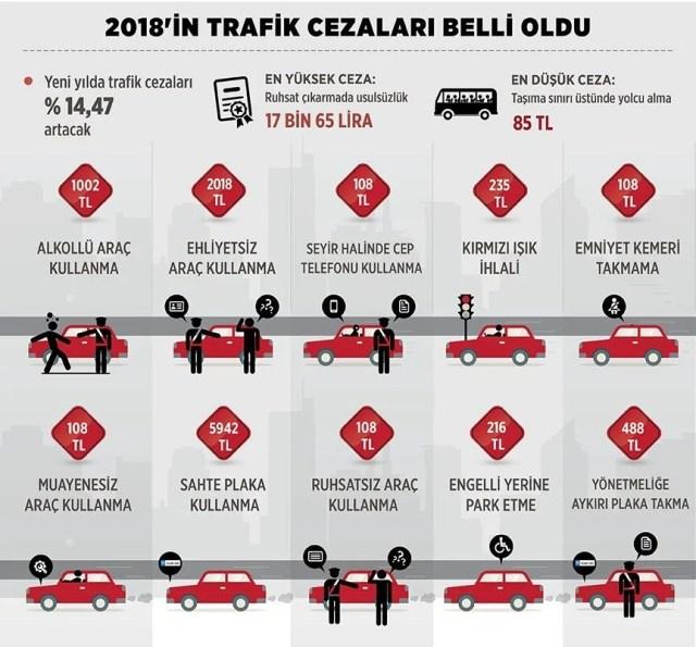 Картинки по запросу trafik cezaları