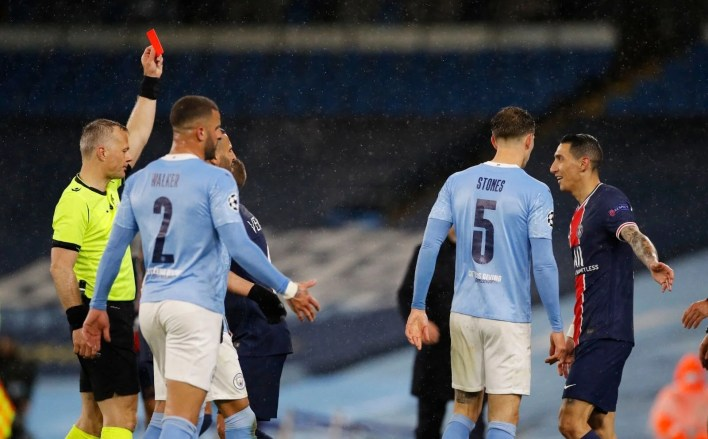 The first finalist of the Champions League has been announced (the result of the match Manchester City - Paris Saint Germain) - 5