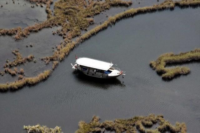 Labirent sazlıkları ile turistlerin gözdesi: Dalyan Kanalı - 14