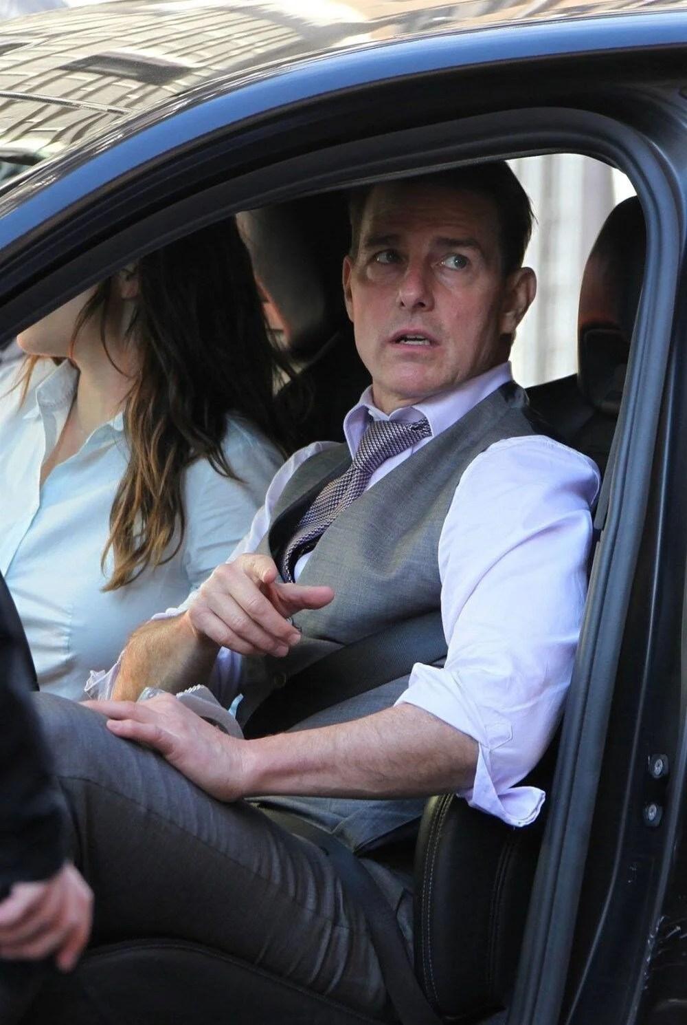 Tom Cruise Görevimiz Tehlike 7'nin çekimleri için Covid-19'a karşı güvenli stüdyo yaptırdı - 8