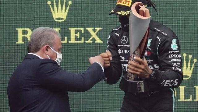 TBMM Başkanı Şentop'tan Şampiyon Hamilton'a Tebrik