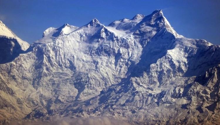 Dünyanın çatısı Himalayalar'a gökyüzünden bakış