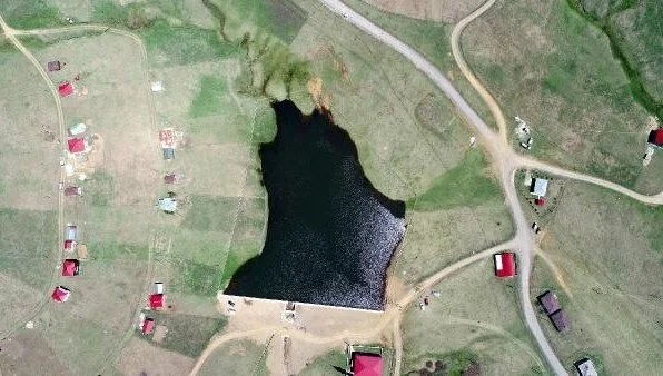 Trabzon'da 8 yapay gölün ilki tamamlandı