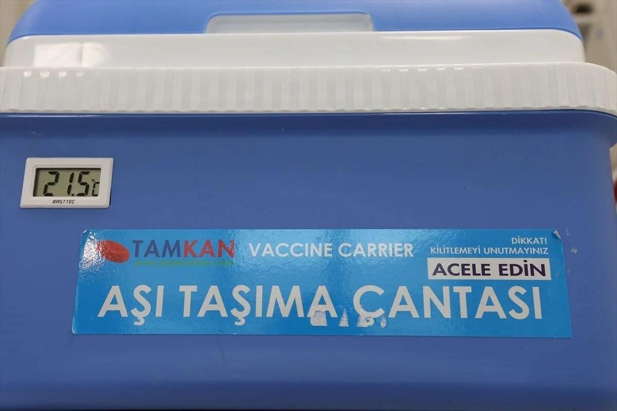 İstanbul'da Covid-19 aşı odaları için hazırlıklar tamamlandı - 6