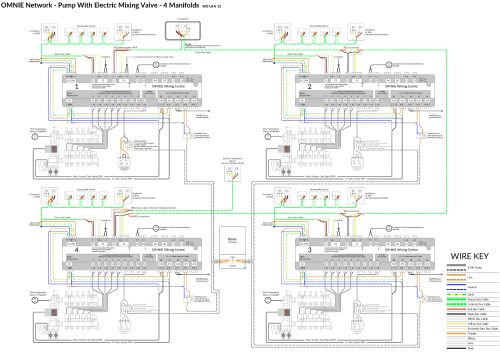 small resolution of use this wiring diagram for 4 manifolds with electric mixers