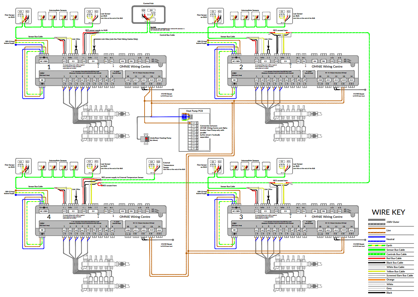 hight resolution of wd onc 3 4 parallel buffer ait heat pump 4 wiring centres