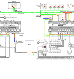 use this wiring diagram for 2 ufh manifolds and wiring centres [ 1791 x 921 Pixel ]