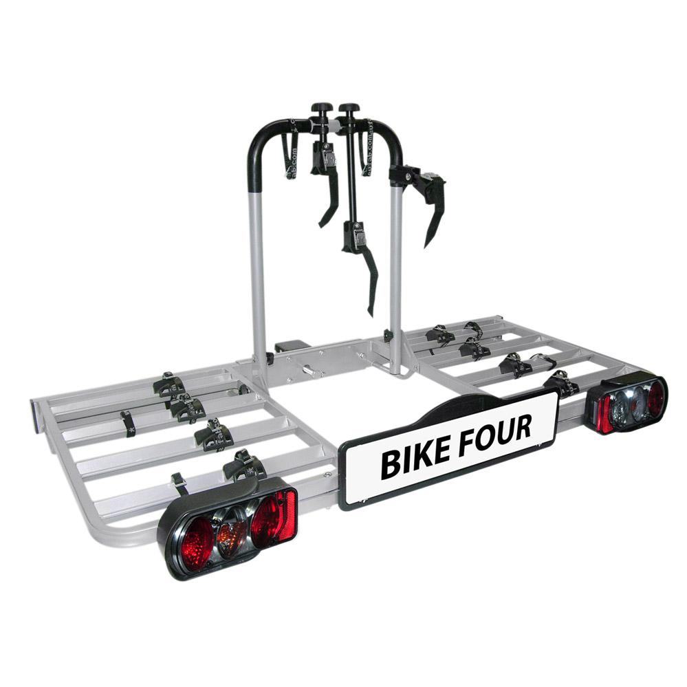 porte velos 4 velos sur attelage plateforme bike four eufab