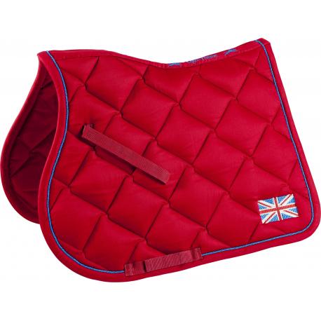 equitheme equestrian team world saddle pad england all purpose