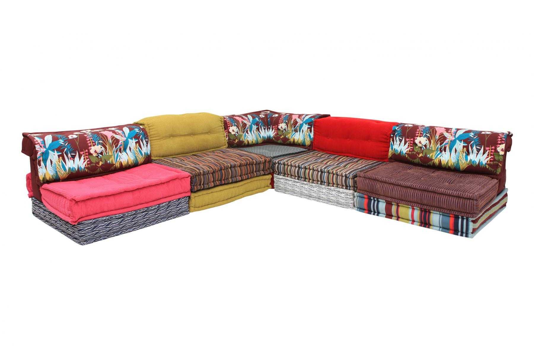 sofa mah jong roche bobois precio extra deep seated sectional