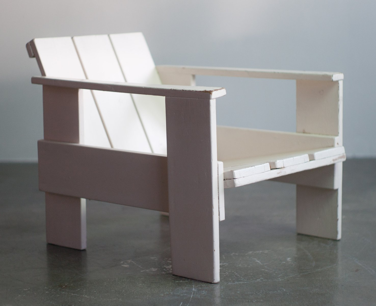 gerrit rietveld crate chair racing seat office by for metz and co 1934