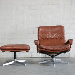 Swivel Chair And Ottoman Deck Chairs Asda Vintage With By André Vandenbeuck For
