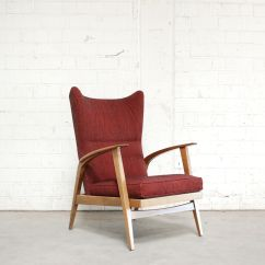 Reclining Wingback Chair Folding Qatar From Knoll 1965 For Sale At Pamono