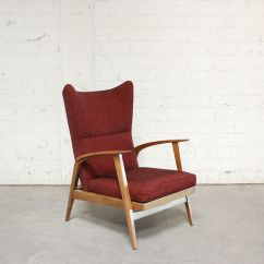 Reclining Wingback Chair Lift For Elderly From Knoll 1965 Sale At Pamono