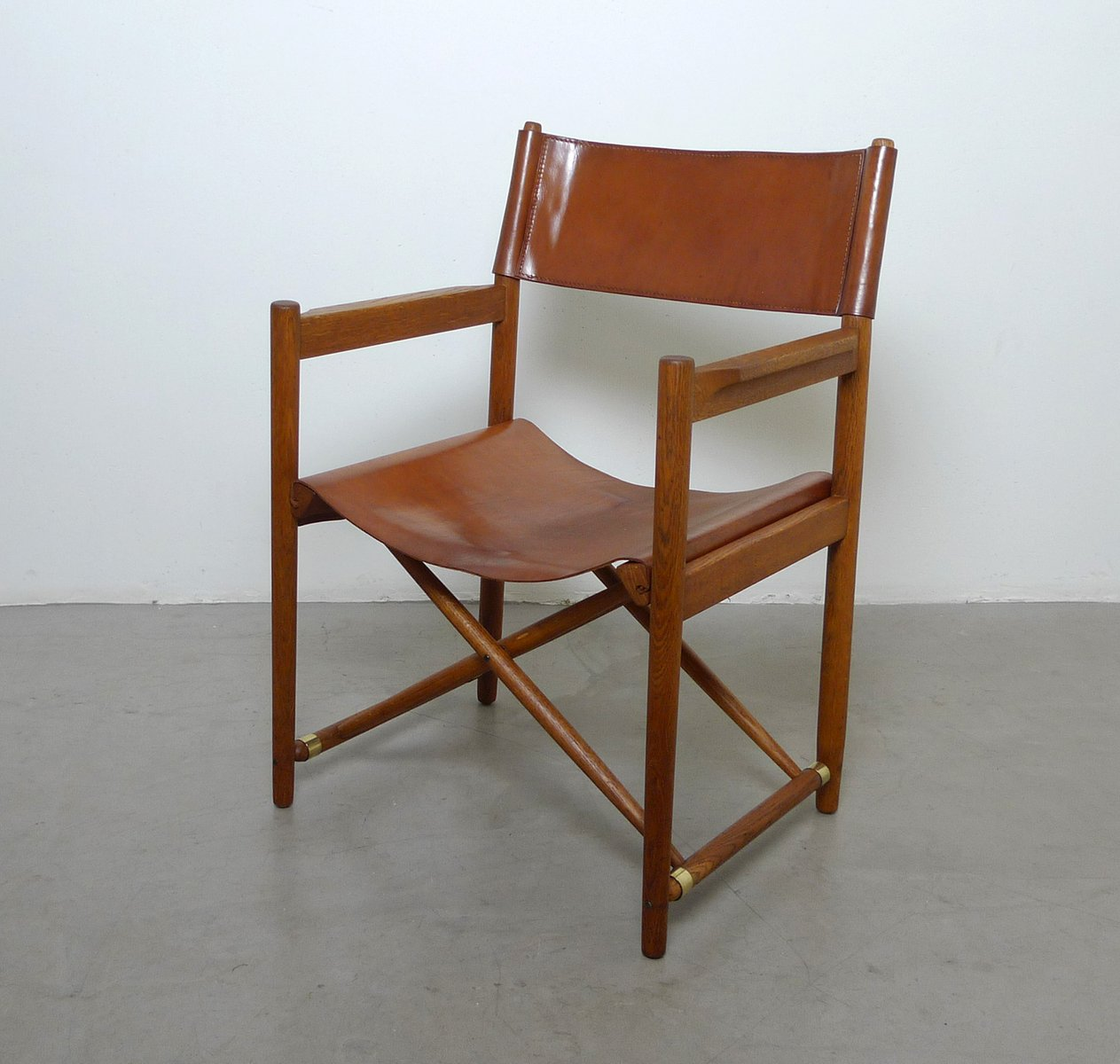 folding z chair mother of pearl inlay mid century danish safari style chairs set 6