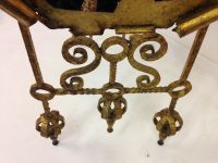 Vintage Spanish Gilded Wrought Iron Floor Mirror for sale ...