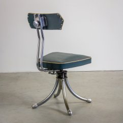 Chair Industrial Design Drive Wheel French Desk 1950s For Sale At Pamono