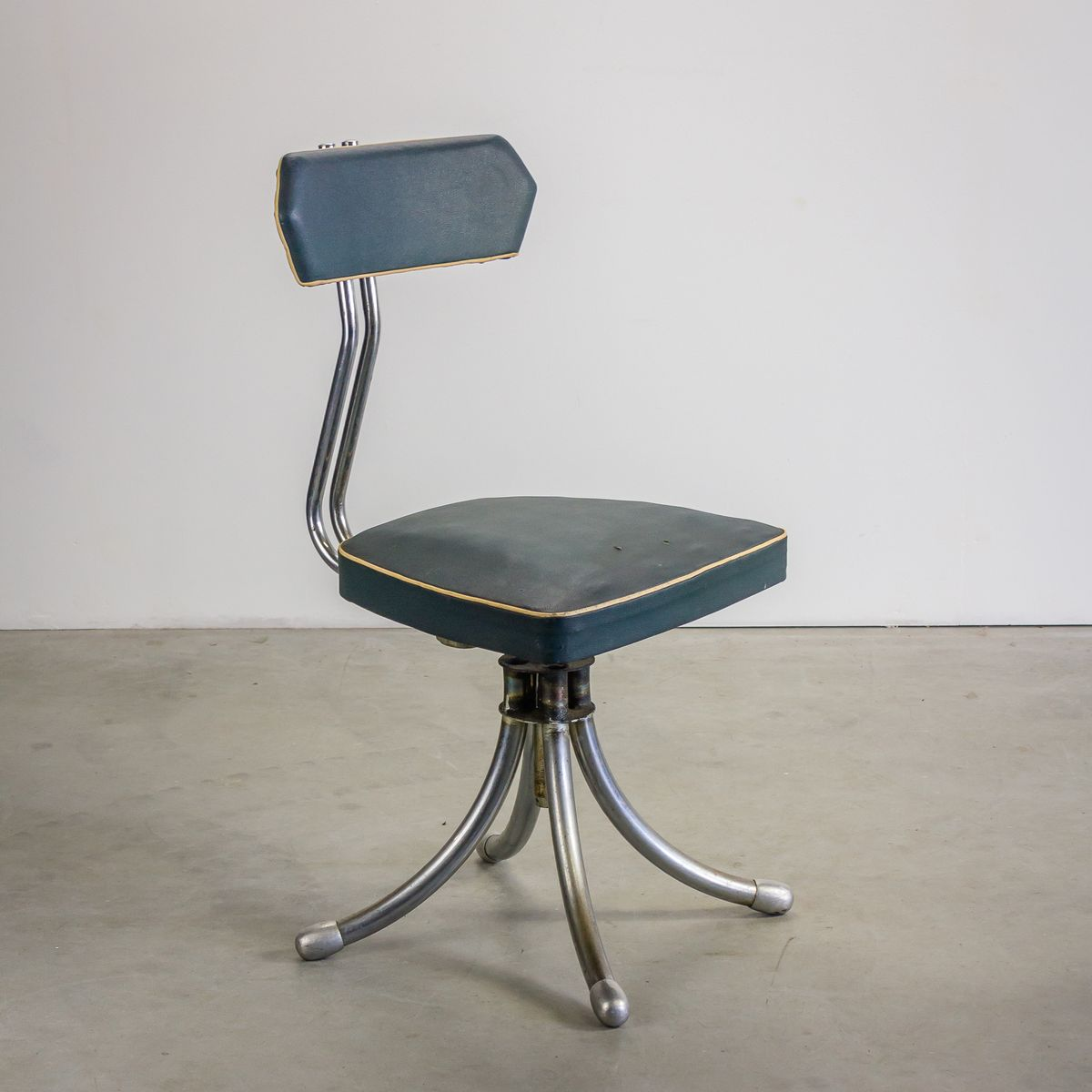 French Industrial Design Desk Chair 1950s for sale at Pamono