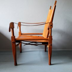 Leather Safari Chair Golden Technologies Lift Reviews And Ash By Wilhelm Kienzle 1950s For