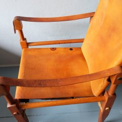 Leather Safari Chair Stand Test Normative Data And Ash By Wilhelm Kienzle 1950s For
