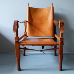 Leather Safari Chair Lycra Covers And Sashes Ash By Wilhelm Kienzle 1950s For